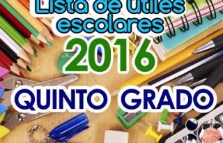 listas-de-utiles-escolares_quinto_grado_2016